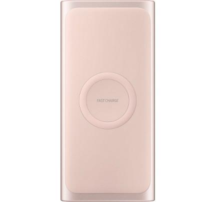 Samung Wireless Battery Pack EB-U1200CPEGW 10000mah pink (ταυτόχρονη φόρτιση 2 συσκευών )
