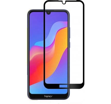 Tempered Glass Πλήρους Κάλυψης 9H 5D Full face Full glue για Huawei Honor 8A black