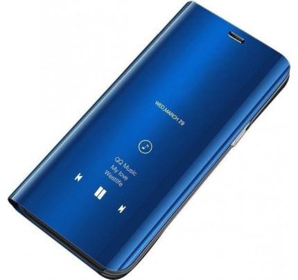 Θήκη OEM Clear View Standing Cover για Samsung Galaxy A70 blue