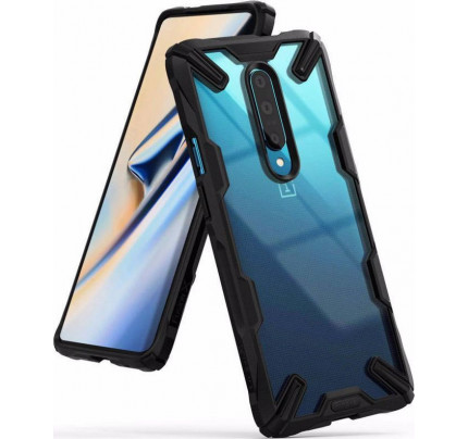 Θήκη Ringke Fusion X για OnePlus 7 Pro black FXOP0001