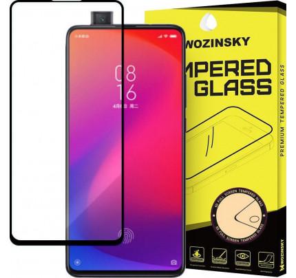 Wozinsky Tempered Glass Full Glue Super Tough Full Coveraged with Frame Case Friendly for Xiaomi Mi 9T Pro / Mi 9T black
