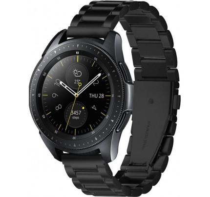 Spigen 600WB24980 Modern Fit Λουράκι Μεταλλικό Samsung Galaxy Watch 42mm μαύρου χρώματος