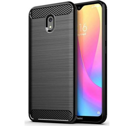 Θήκη Carbon Flexible Cover TPU for Xiaomi Redmi 8A black