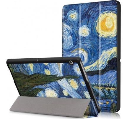 """Θήκη TECH-PROTECT Smartcase για Huawei Mediapad T3 10"""" Starry Night"""