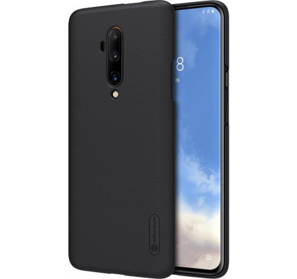 Nillkin Super Frosted Shield back cover case for Oneplus 7T Pro black
