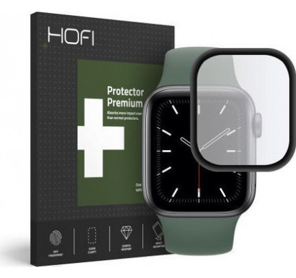 Hofi Hybrid Tempered Glass για Apple Watch 4 / Apple Watch 5 44mm Black