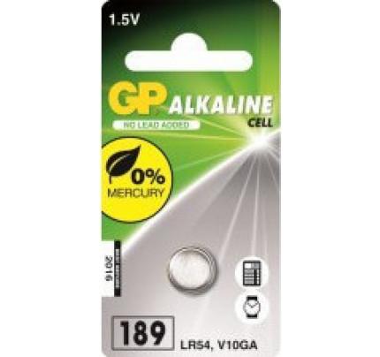 Μπαταρία GP alkaline cell 1.5V 189, LR54, V10GA