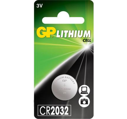 Μπαταρία GP Lithium CR2032 3V