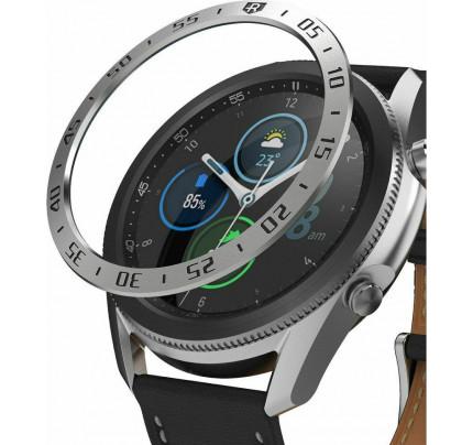 Ringke Bezel Styling Stainless Samsung Galaxy Galaxy Watch 3 45mm Ασημί