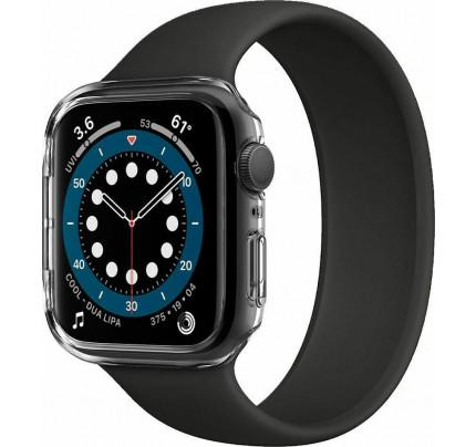 Spigen Thin Fit Case CC Apple Watch Series 6 / 5 / 4 / SE 44mm Crystal Clear ACS02814