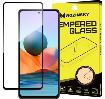 Wozinsky Full Glue Full Face Tempered Glass Xiaomi Redmi Note 10 Pro black
