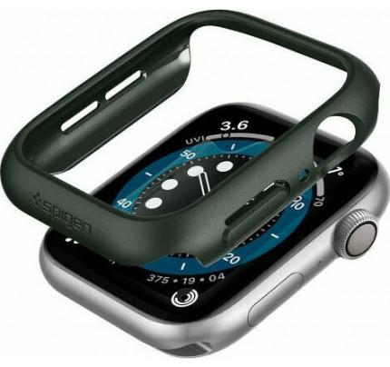 Spigen Thin Fit Case  Apple Watch Series 6 / 5 / 4 / SE 44mm Military Green ACS02000