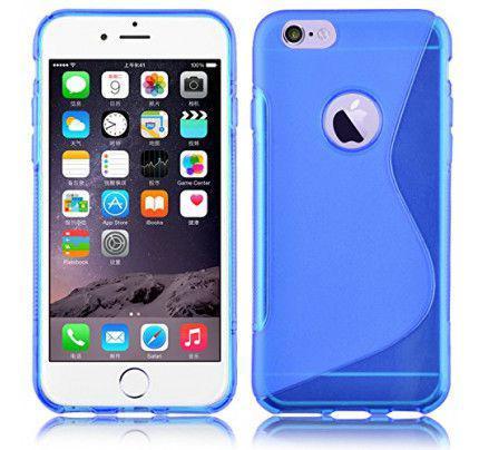Θήκη TPU S-Line για iPhone 4/4s blue