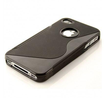 Θήκη TPU S-Line για iPhone 4/4s black