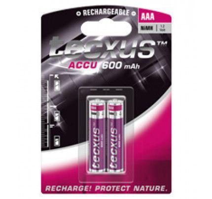 Επαναφορτιζόμενες Μπαταρίες Texcus AAA 600mAh NIMH 2-BL tecxus