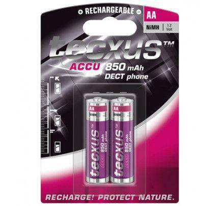Επαναφορτιζόμενες Μπαταρίες Texcus 850mAh NIMH 2-BL