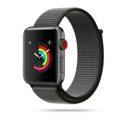 Λουράκι  Tech-Protect Nylon Apple Watch 2/3/4/5/6/SE (42/44MM) dark olive