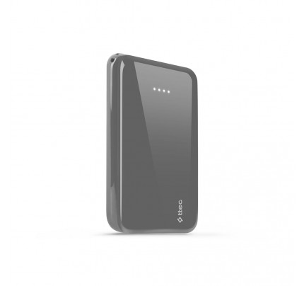 TTEC ReCharger™ S 5.000mAh Powerbank Φορητή Μπαταρία gray