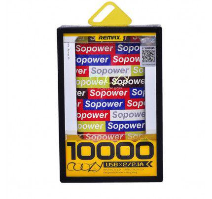 Power Bank Remax Coozy 10000mAh Li-Pol SoPower