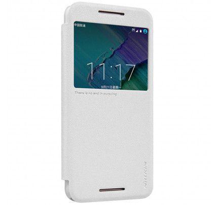 Θήκη Nillkin Sparkle S-view για Motorola Moto X Style λευκού χρώματος
