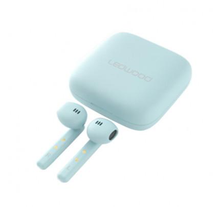 Ασύρματα ακουστικά LEDWOOD + Θήκη φόρτισης LD-M1011-TWS Μπλε (3700789508076)