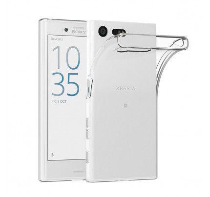 Θήκη TPU Ultra Slim 0,3mm για Sony X Compact διάφανη