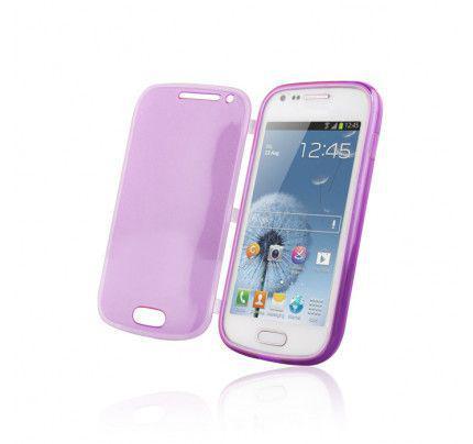 Θήκη Smart Skin για Sony Xperia J ST26i Purple