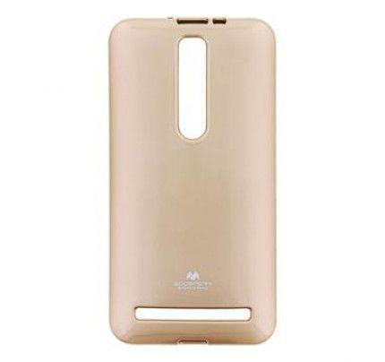 Θήκη Mercury Jelly για Asus Zenfone 2 ZE551ML χρυσαφί χρώματος
