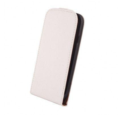Θήκη Flip Elegance για Samsung Fame S6810 White