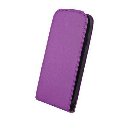Θήκη Flip Elegance για Samsung Fame S6810 Purple