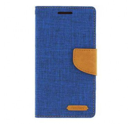Θήκη Mercury Canvas Diary Asus Zenfone 2 ZE551ML Blue / Camel