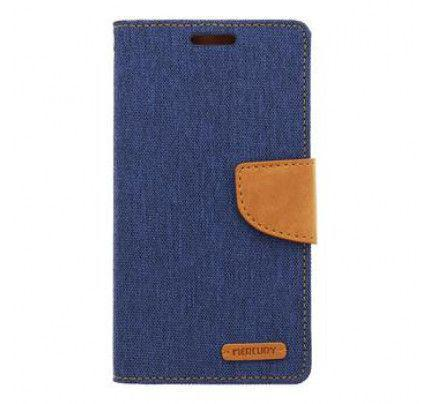 Θήκη Mercury Canvas Diary Asus Zenfone 2 ZE551ML Navy / Camel
