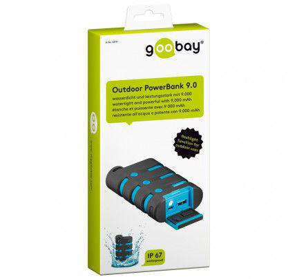 Εξωτερική Μπαταρία Outdoor PowerBank 9000mAh watertight and powerful
