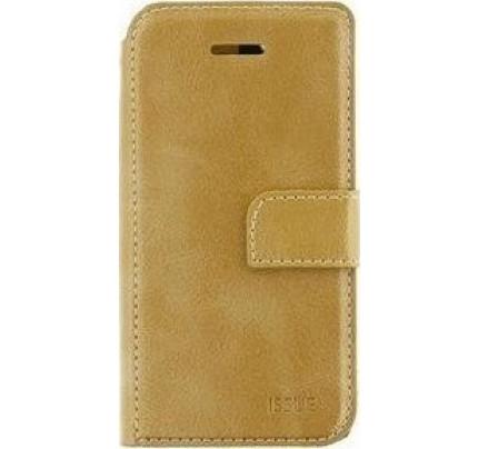 Θήκη Molan Cano Issue Book για Samsung Galaxy J7 2017 J730 gold ( θήκες για κάρτες ,χρήματα)