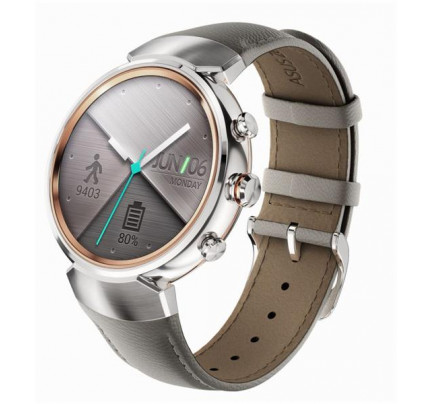 Asus Zenwatch 3 silver , leather strap Beige M00030 90NZ0063