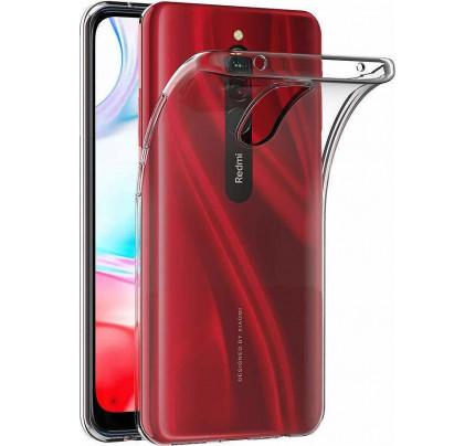 Θήκη Ultra Clear 0.5mm Gel TPU Cover for Xiaomi Redmi 8A transparent