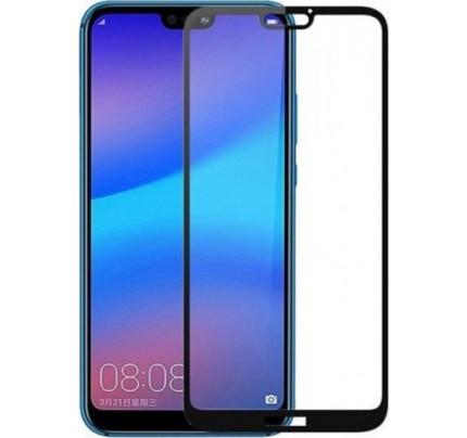 Φιλμ Προστασίας Οθόνης Tempered Glass (άθραυστο ) 9H για Huawei Mate 20 PRO πλήρους κάλυψης -  full face black