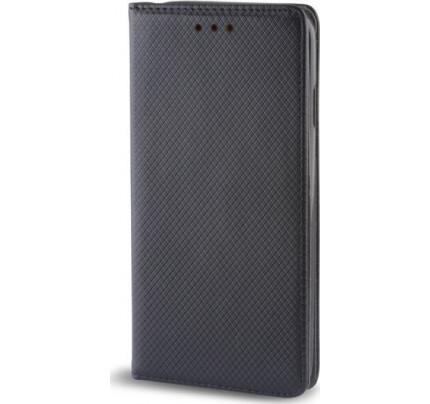 Θήκη OEM Smart Magnet για Xiaomi Redmi 4X μαύρου χρώματος (stand ,θήκη για κάρτα )