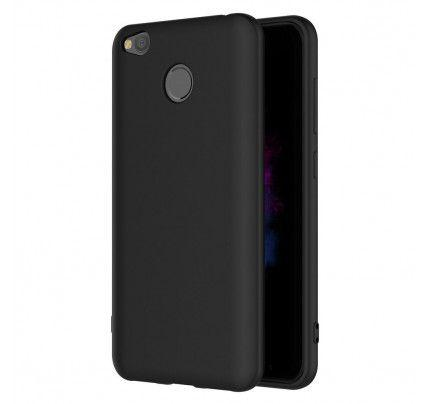 Θήκη TPU Ultra Slim matt 0,3mm για Xiaomi Redmi 4X μαύρου χρώματος