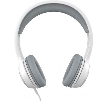 ZAGG IFFAWH-WH0 Stereo Headphones  + MIC White