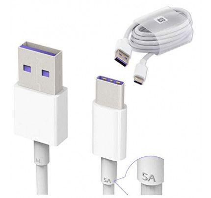 Huawei Original Cable HL1289 5A Type C σε USB Male 3.1 Fast Charging Bulk