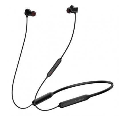 ONEPLUS BULLETS WIRELESS Z IN-EAR HEADPHONES 5481100012 μαύρου χρώματος