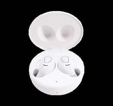 Ασύρματα ακουστικά LEDWOOD + θήκη φόρτισης i9 TWS Λευκού χρώματος (3700789506676)