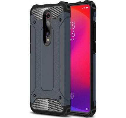 Θήκη OEM Hybrid Armor Tough Rugged Cover για Xiaomi Mi 9T μπλε χρώματος