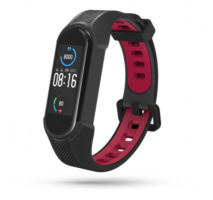 TECH-PROTECT ARMOUR XIAOMI MI SMART BAND 5/6 BLACK/RED