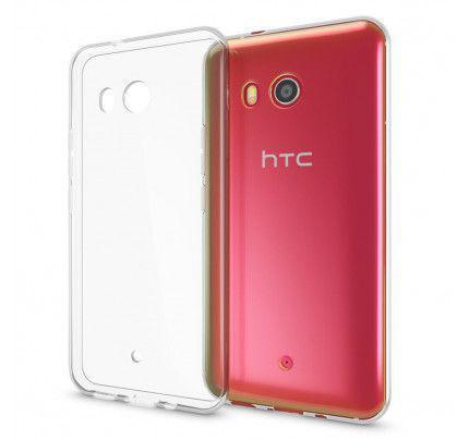 Θήκη TPU Ultra Slim 0,3mm για HTC U11 διάφανη
