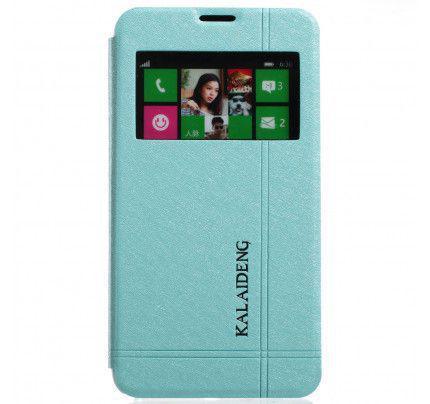 Θήκη Kalaideng Iceland Series για Nokia Lumia 630 / 635 μπλε χρώματος