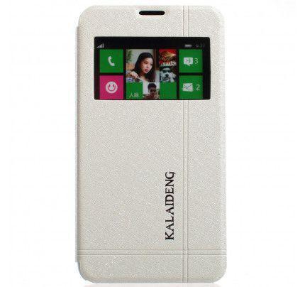 Θήκη Kalaideng Iceland Series για Nokia Lumia 630 / 635 λευκού χρώματος
