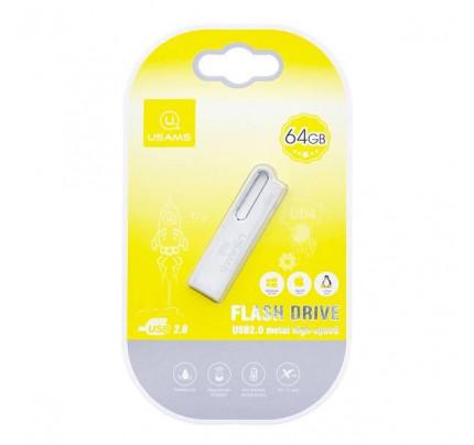 USAMS USB Stick Pendrive 64GB silver ZB99UP01