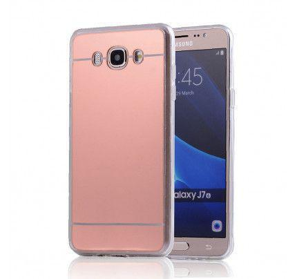 Θήκη Jelly Mirror για Samsung Galaxy J7 2016 J710 rose gold